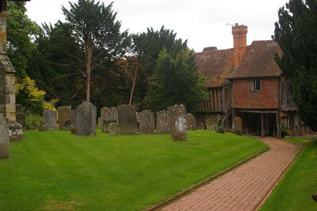 Churchyard, St John the Baptist, Penshurst, Kent