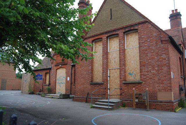 Closed St Luke's school by N Chadwick