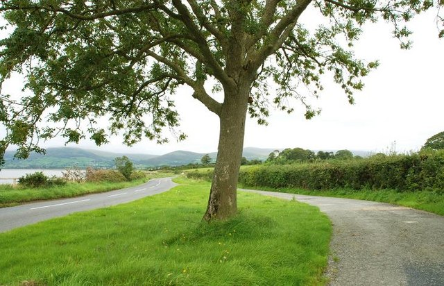 Road and lay-by near Greencastle, Co Down