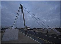 SD3317 : Bridge at dusk by Gary Rogers
