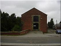 SD4520 : Canal warehouse, Bank Bridge, A59 by Robert Wade