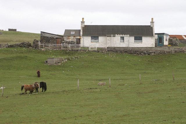 House at Duncansclett, West Burra