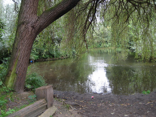 River Colne: Ford Lane ford