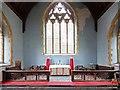 TL7199 : Christ Church, Whittington, Norfolk - Sanctuary by John Salmon