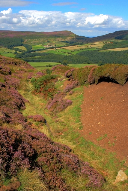 Garfit Gap, From Urra Moor
