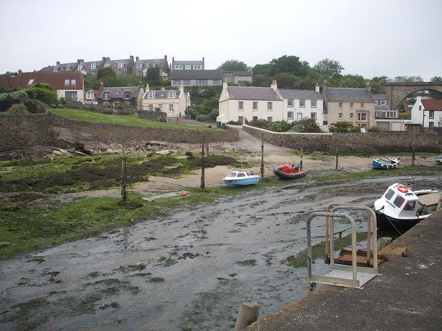 Drum Brae from the Largo Harbour.