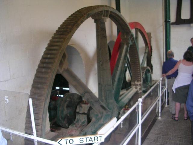 Gear Wheels for Pump - Claverton Pumping Station