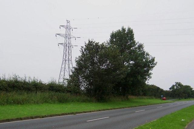 Pylon corner