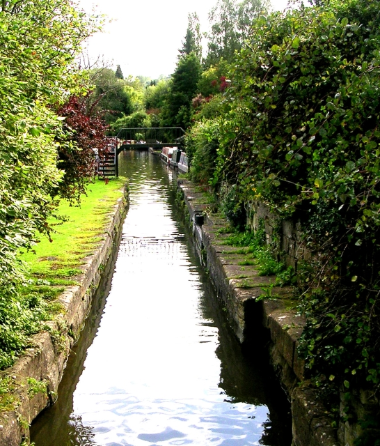 Somerset Coal Canal viewed from Canal Basin