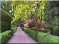 SJ7414 : Lilleshall national Sports Centre gardens by gareth