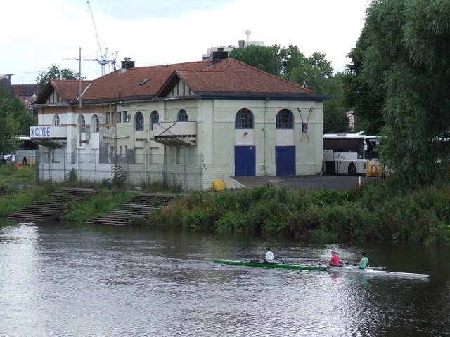 Clyde boathouse