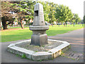 TQ3570 : Metropolitan Drinking Fountain, Penge by Stephen Craven