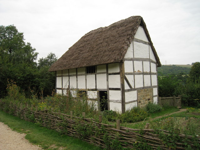 Poplar Cottage at Weald & Downland Museum, Singleton, West Sussex