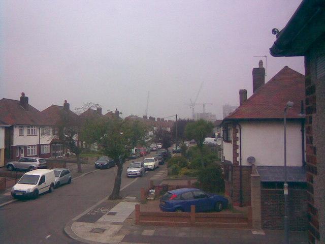 Tower Blocks in Gants Hill from my bedroom window