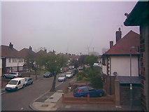 TQ4387 : Tower Blocks in Gants Hill from my bedroom window by Robert Lamb