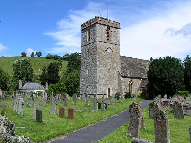 Clyro church