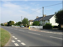 TR3256 : The A258 from the end of Felderland Lane by Nick Smith