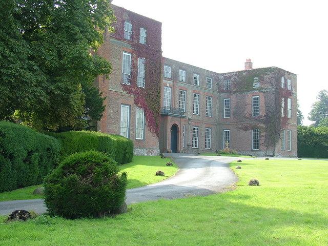Glemham Hall, front