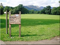 NY3704 : Rothay Park in Ambleside by Peter S