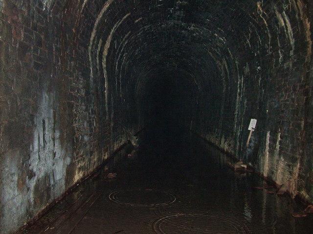 Old Talyllyn Railway Station Tunnel