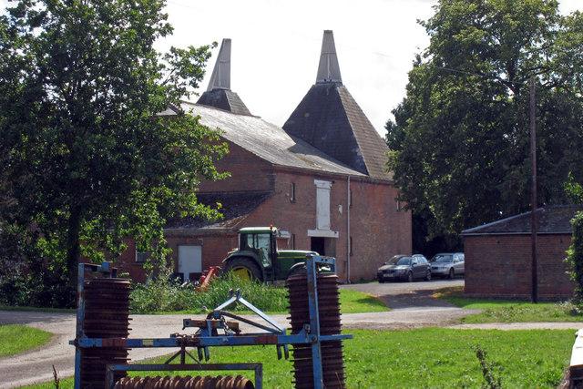 Oast House at Bockingfold Farm, Spenny Lane, Marden,  Kent