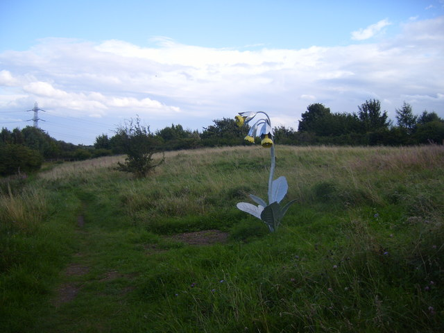 Sculpture in a Wildlife Park