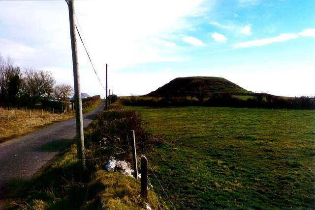Motte at Dunnamona, Co. Westmeath