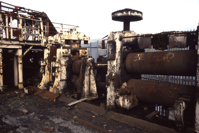 Derelict rolling mill, Landore