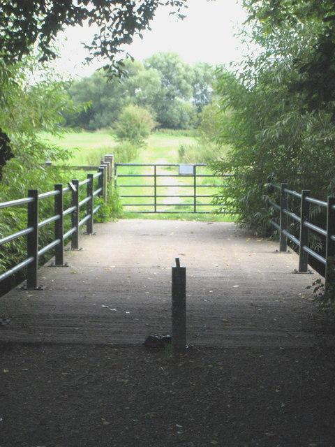 Long Bridge at Hurst Water Meadow
