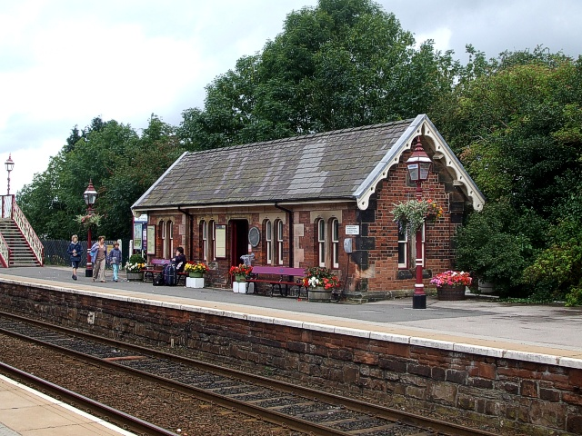Appleby-in-Westmorland Station : Waiting Room