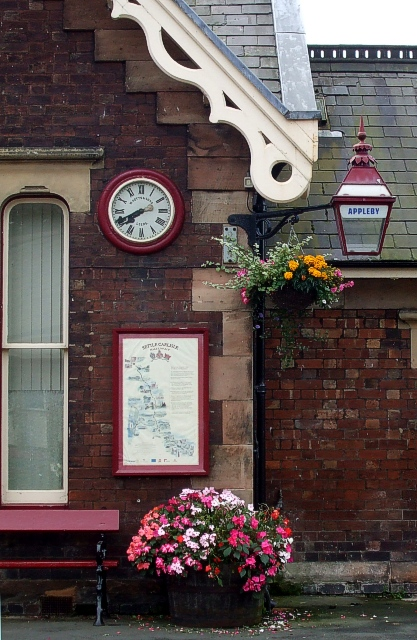 Appleby-in-Westmorland Station : Detail