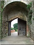 TM2863 : Gated Entrance by Keith Evans