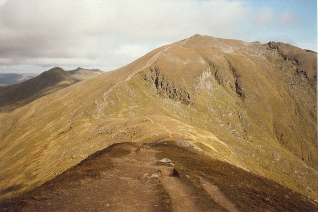 Ben Lawers Path  from Beinn Ghlas