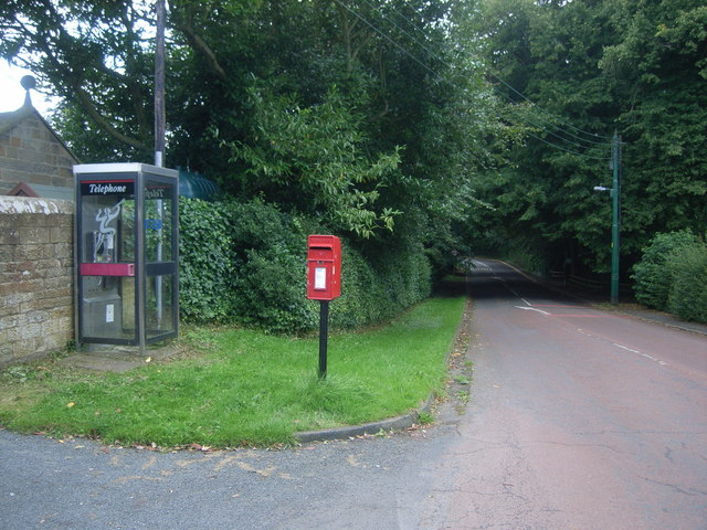Telephone box in Bothal