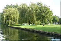 TQ0072 : Park at Runnymede by Graham Horn