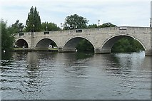 TQ0566 : Chertsey Bridge by Graham Horn