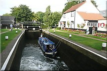 TQ0765 : Thames Lock by Graham Horn