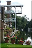 TQ0765 : Apartments above Thames Lock by Graham Horn