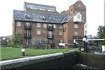 TQ0664 : Coxes Mill and Lock by Graham Horn