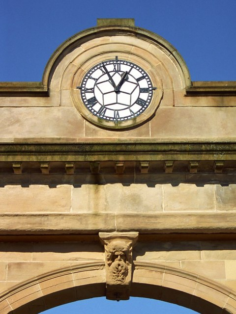 Graham Square - Clockface and Horned Head