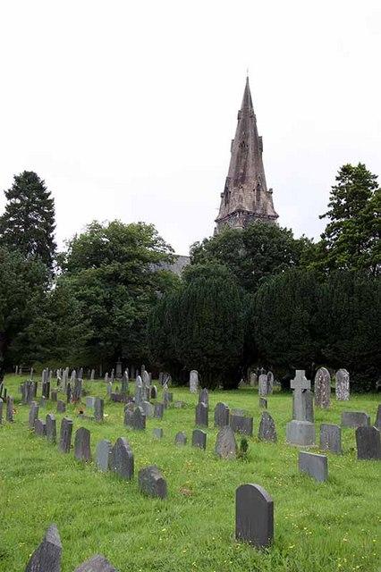 St Mary, Ambleside, Cumbria - Churchyard