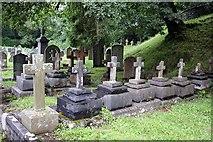 NY3704 : St Mary, Ambleside, Cumbria - Churchyard by John Salmon