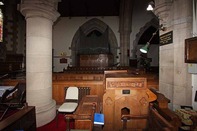 St Mary, Ambleside, Cumbria - Organ