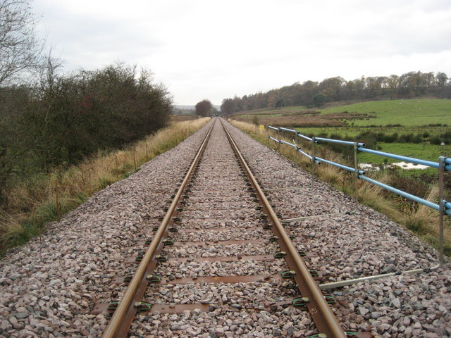 Railway line towards Kildale