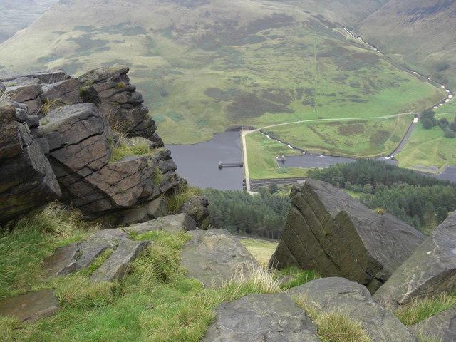 A view from Alderman's Rocks
