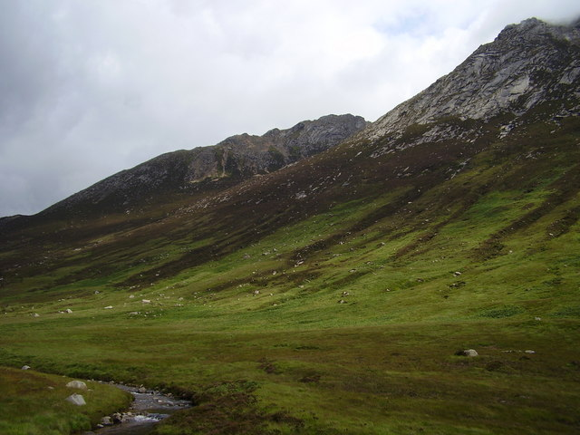 North Goatfell from Glen Rosa
