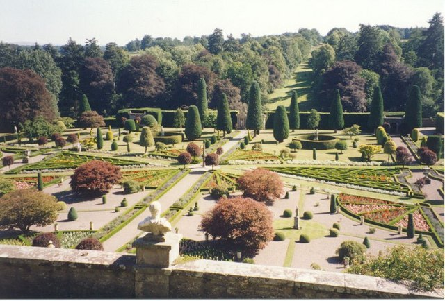 Image result for drummond castle gardens