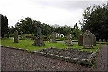 NY2623 : St John's church, Keswick, Cumbria - Churchyard by John Salmon