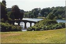 ST7733 : The Bridge in Stourhead Gardens by Sarah Charlesworth