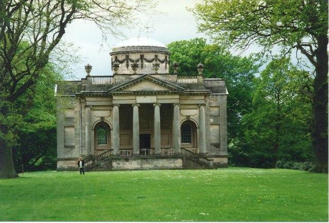 Mausoleum in Gibside Gardens